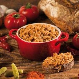 Rillettes de Canard aux Tomates et piment d'Espelette 90g