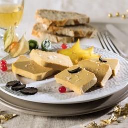 La Spécialité de Foie Gras de Canard du Périgord mi-cuit au Jus de truffe 250g