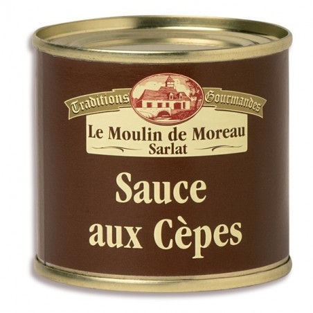 Le lot de 3 sauces aux cèpes 100g
