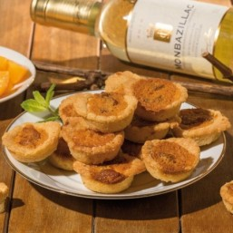Le Sachet de Tartelettes Pêche & Monbazillac 100g