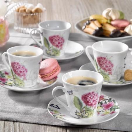 Le Magnifique Service à Café en porcelaine 12 pièces