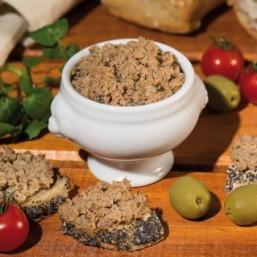 Le lot de 2 Rillettes de Canard aux Olives vertes et Herbes de Provence 90g