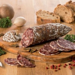 Le lot de 2 Saucissons Secs aux Cèpes 180g