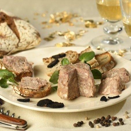 Terrine d'oie au jus de truffe 100g