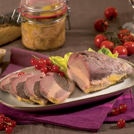 Magret de Canard fourré au Foie de Canard (20% Foie Gras) mi-cuit - sous vide 260g