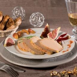 Foie Gras de Canard Entier du Périgord au piment mi-cuit 170g