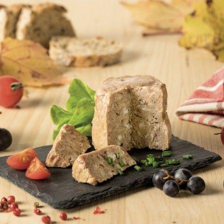Terrine de pintade au vin de Cahors 100g