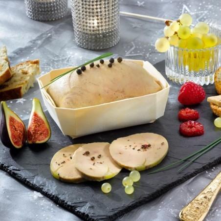 Lot de 2 Foies Gras de Canard Entiers du Périgord mi-cuits (sous vide) 250g