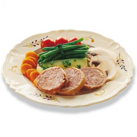 Lot de 2 Cous de Canard farcis (20% Foie Gras) 190g