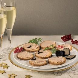Le lot de 2 Tartinades de Canard à la Truffe d'été 1% (20% Foie Gras)