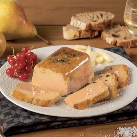 Le Foie Gras de Canard Entier du Périgord en gelée de poire williams mi-cuit 250g