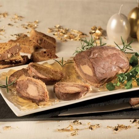 Magret de Canard entier fourré au Foie de Canard (20% Foie Gras) 500g