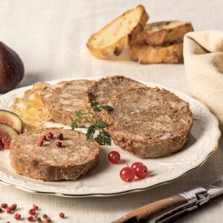 Cou de Canard farci (20% Foie Gras) 400g