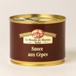 La Sauce aux Cèpes 200g