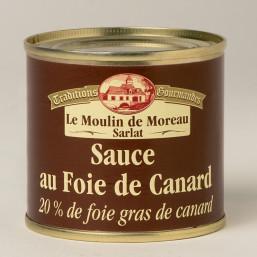 Le lot de 3 Sauces au Foie de Canard (20% de foie gras de canard) 100g