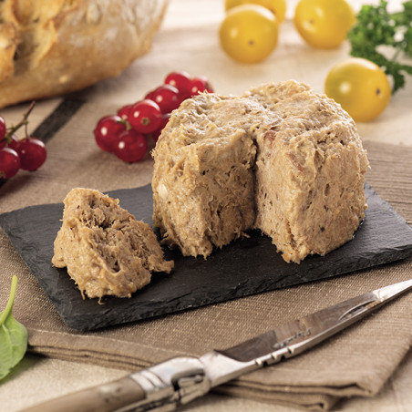 Lot de 6 Rillettes de Canard 130g